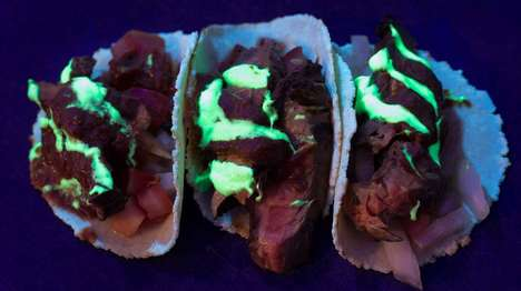 Glow-in-the-Dark Taco Menus