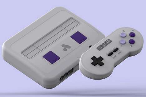 High-End Cartridge Game Consoles
