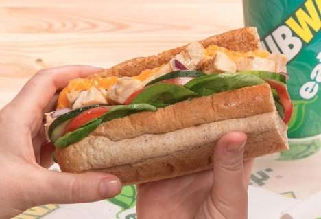 Charitable Sandwich Initiatives - Subway is Declaring a World Sandwich Day for Charitable Reasons