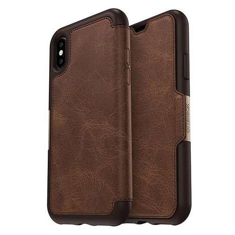 Mature Style Smartphone Cases - The OtterBox STRADA SERIES Case for iPhone X is Chic