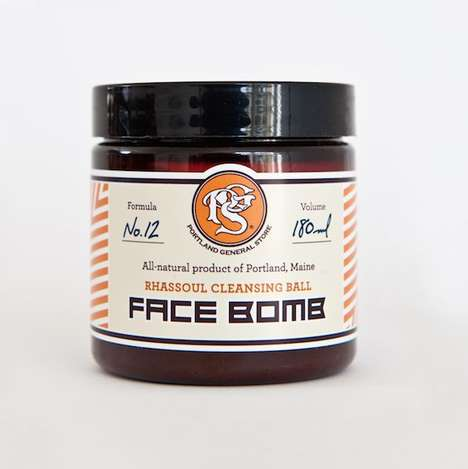Sandalwood Face Muds - Portland General Store's 'Face Bomb' Cleanses and Nourishes the Skin