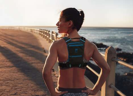 Ergonomic Runner Backpacks - The 'FITLY' Running Pack Straps Essentials to Your Person