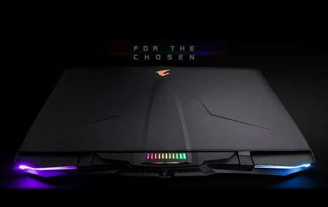 Dual-GPU Gaming Laptops - The Gigabyte Aorus X9 Laptop Features a Mechanical Keyboard and More