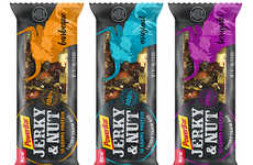 Jerky Snack Bars - PowerBar's 'Jerky & Nut' Snack Bar Includes a Mix of Meat, Nuts and Seeds