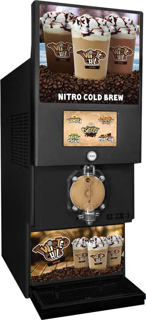 Flavor-Mixing Coffee Machines