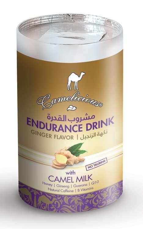 Camel's Milk Energy Drinks