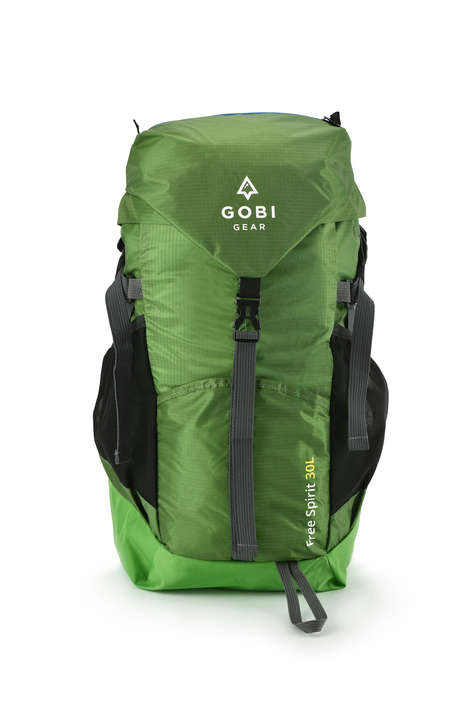 Packable Adventure Backpacks - Gobi Gear's Free Spirit 30L is Ultra-Light and Fully Packable