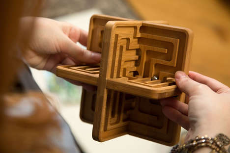 Relaxing Labyrinth Toys - 'Zenth' is a Sculptural 3D Toy to Calm and Quiet the Mind