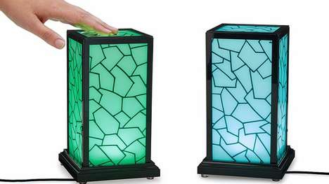 Romantic Touch Lighting - These Interactive Touch Lamps Help Couples With Long-Distance Love