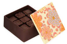 Edible Chocolate Packaging - The Edible Chocolate Box of Chocolates is Handcrafted