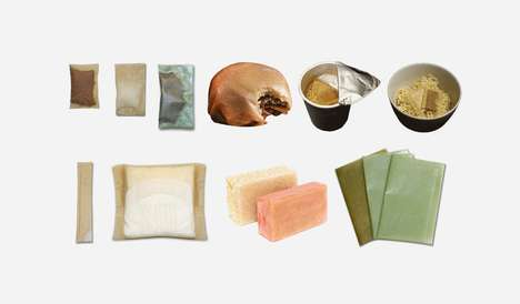 Zero Waste Food Packaging - Evoware's Biodegradable and Edible Packaging is Made Out of Seaweed