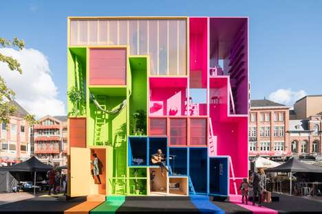 Reconfigurable Home Designs - MVRDV's Adaptable Home Can be Altered to Suit Various Needs