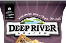 Charitable Chip Brands - Deep River Snacks Donates 10 Percent of Profits to Charities