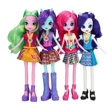 Fashionable Pony Dolls