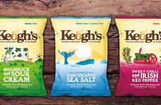 Ireland-Inspired Potato Chips - Keogh's Crisps Celebrate All-Irish Ingredients Grown on a Farm