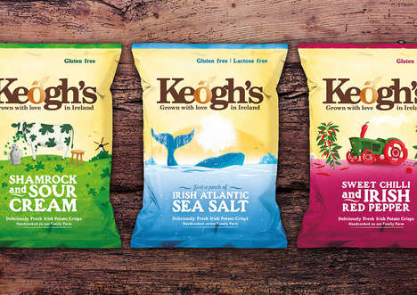 Ireland-Inspired Potato Chips