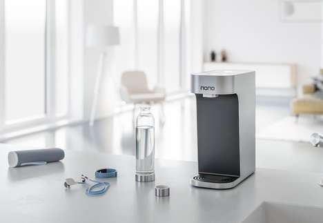 Temperature-Regulating Water Dispensers - The Nano Smart Water Dispenser Optimizes H2O Temperature