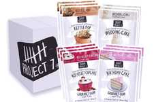 Dessert-Flavored Chewing Gums - The Project 7 Dessert Pack Donates to Worthy Causes