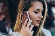 Florally-Infused Smartphone Cases - The MMORE Organika Roses iPhone Case is Made with Real Flowers