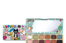 Cartoon Chihuahua-Themed Eye Shadows - Too Faced's 'Clover Palette' Features 18 Colorful Shades