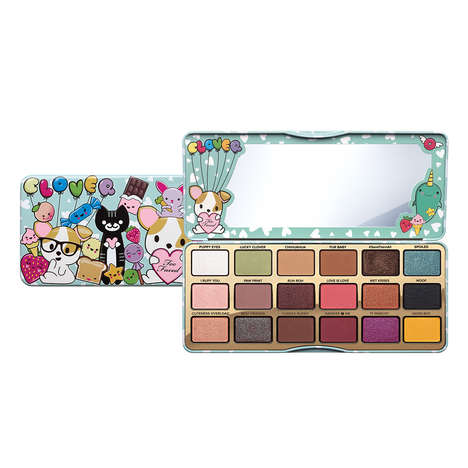 Cartoon Chihuahua-Themed Eye Shadows