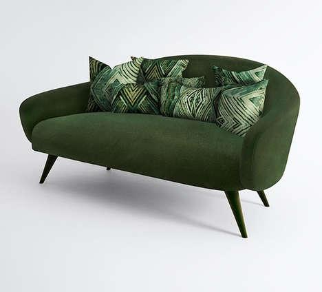 Gemstone-Inspired Sofas