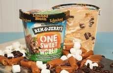 Social Justice-Benefiting Ice Creams - The Ben & Jerry's One Sweet World Ice Cream is Empowering