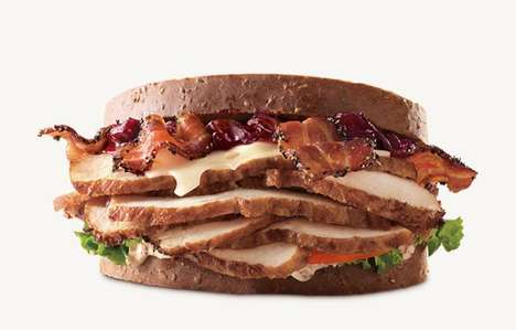 Deep Fried Turkey Sandwiches - These Arby's Sandwiches are a New Twist on the Seasonal Dish