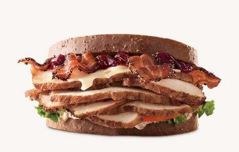 Deep Fried Turkey Sandwiches