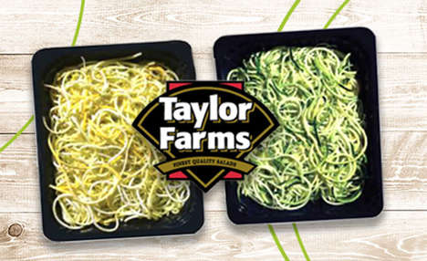 Foodservice Veggie Noodles - The Taylor Farms Vegetable Noodles are Made from Healthy Ingredients