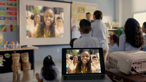 Classroom-Connecting Video Chats