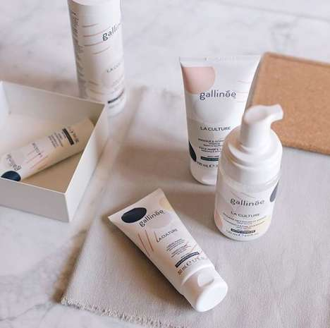 Probiotic Skincare Brands - Gallinée Offers Probiotic and Prebiotic Skincare Products