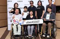 Disability-Friendly Ridesharing Services - Thailand's uberASSIST is for People With Disabilities