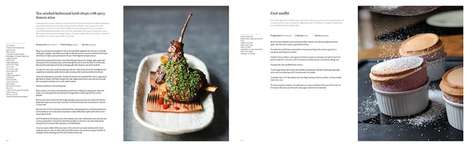 Collaborative British Cookbooks - 'The Great British Chefs Cookbook' Features Over 100 Recipes