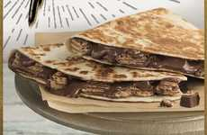 Chocolate Bar Quesadillas - Taco Bell is Currently Testing a Kit Kat Quesadilla in Wisconsin