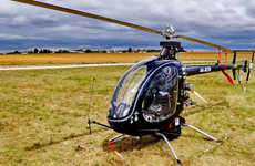 One-Person Personal Helicopters - The Mosquito XE Single Seat Helicopter Enables Solo Flying