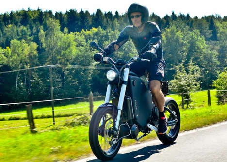 Pedal-Controlled Electric Motorcycles