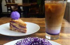Yam-Based Donuts - Manila Social Club Offers a Donut Based in Sweet Vegetables