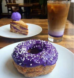 Yam-Based Donuts