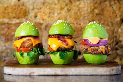 Avocado-Themed Restaurants - London's New Avobar Features Dishes Made Up of Avocados