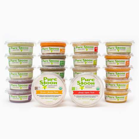 Garden Fresh Baby Foods - Pure Spoon Makes Certified Organic and Cold-Pressed Vegan Baby Food