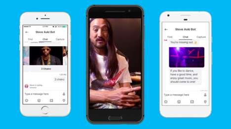 Touring Musician Chatbots - Imperson Created a Steve Aoki Chatbot for Fans to Interact with on Skype