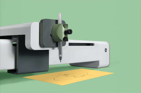 Design-Plotting Devices - 'Plotter' is a Smart Design Assistant That Draws and Sketches without Ink