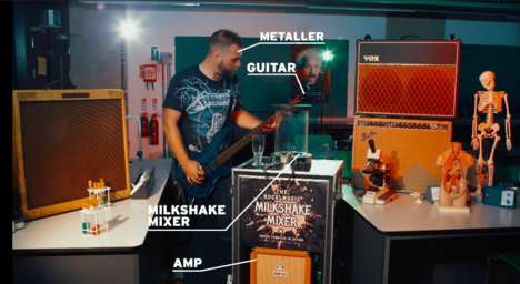 Guitar-Powered Blenders