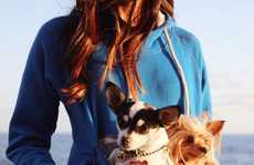 Pet Pouch Sweatshirts - The 'Roodie' Pet Hoodies Perfectly Suit You and Your Furry Friend