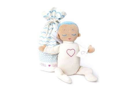 Sleep Companion Dolls - Lulla Doll Mimics Breathing and Heartbeat Sounds to Soothe Young Ones