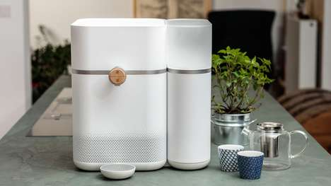 Mineralizing Water Purifiers - Mitte's Home Water System Enriches Water with Custom Mineral Blends