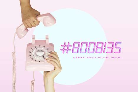 Youth-Targeted Cancer Campaigns - The Rethink Breast Cancer Campaign Takes a More Modern Approach