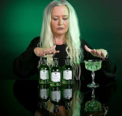 Wickedly Cursed Gin Drinks - The Limited Edition 'Evil Spirits Gin' Has Been Cursed by a Real Witch