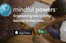 Youth Anxiety-Addressing Apps - The Mindful Powers App Teaches Kids to Cope With Anxiety and Stress